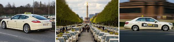 Preise für Taxis in Deutschland