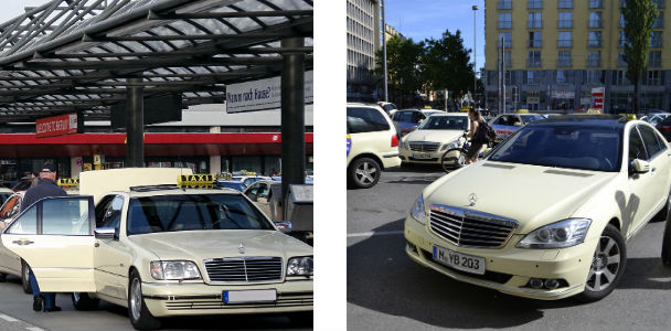 Taxi in Germany
